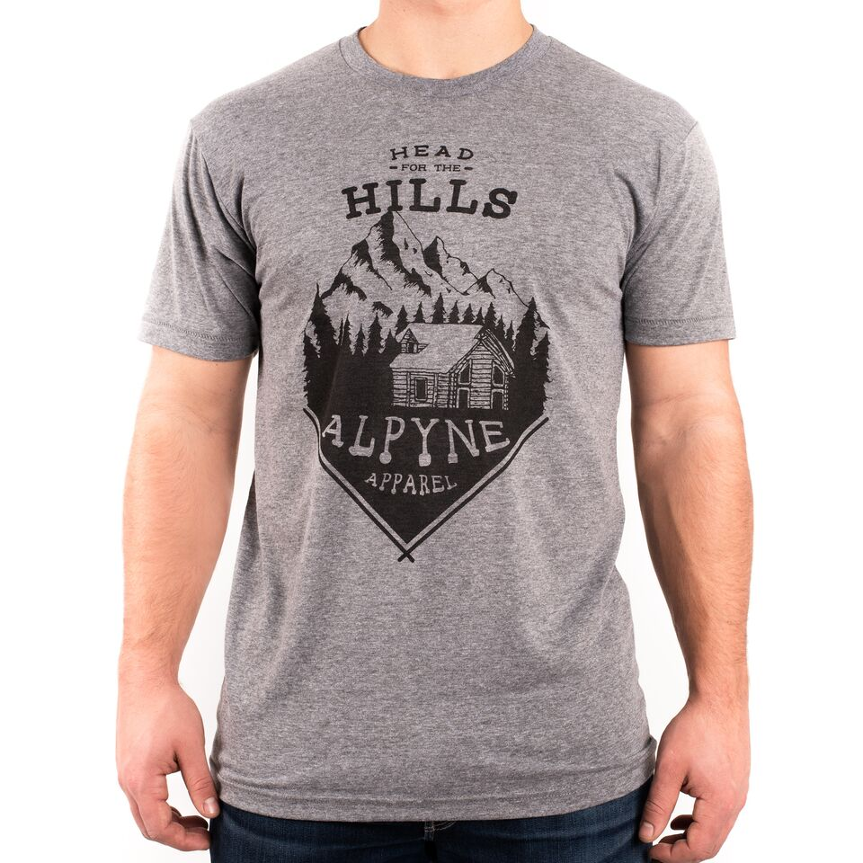 """Head for the Hills"" Tee"