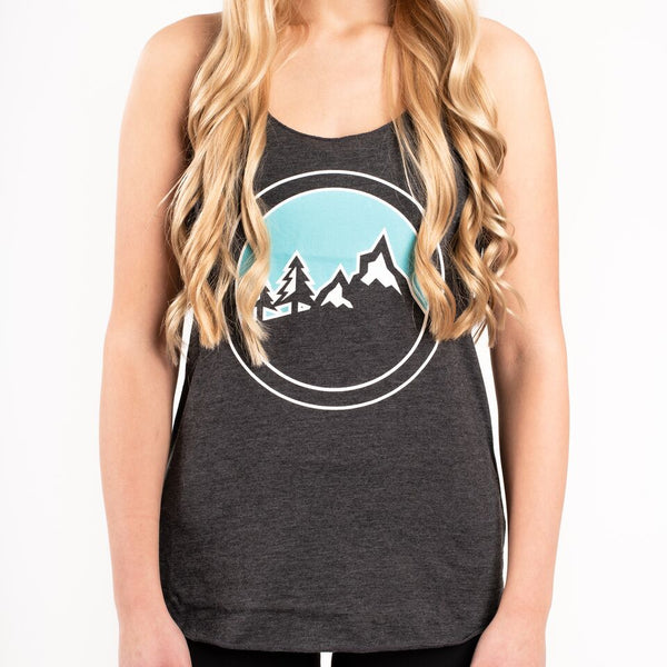 """Kimberley"" Womens Tank (Grey)"