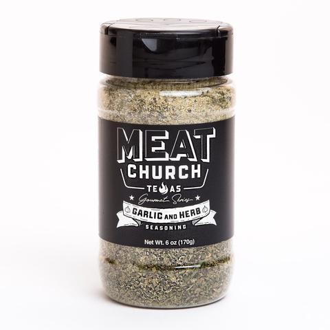 Meat Church Gourmet Garlic & Herb Rub