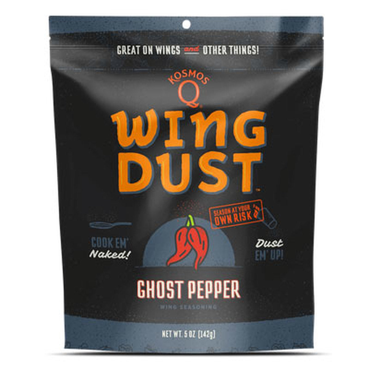 Kosmo's Q - Ghost Pepper Wing Dust
