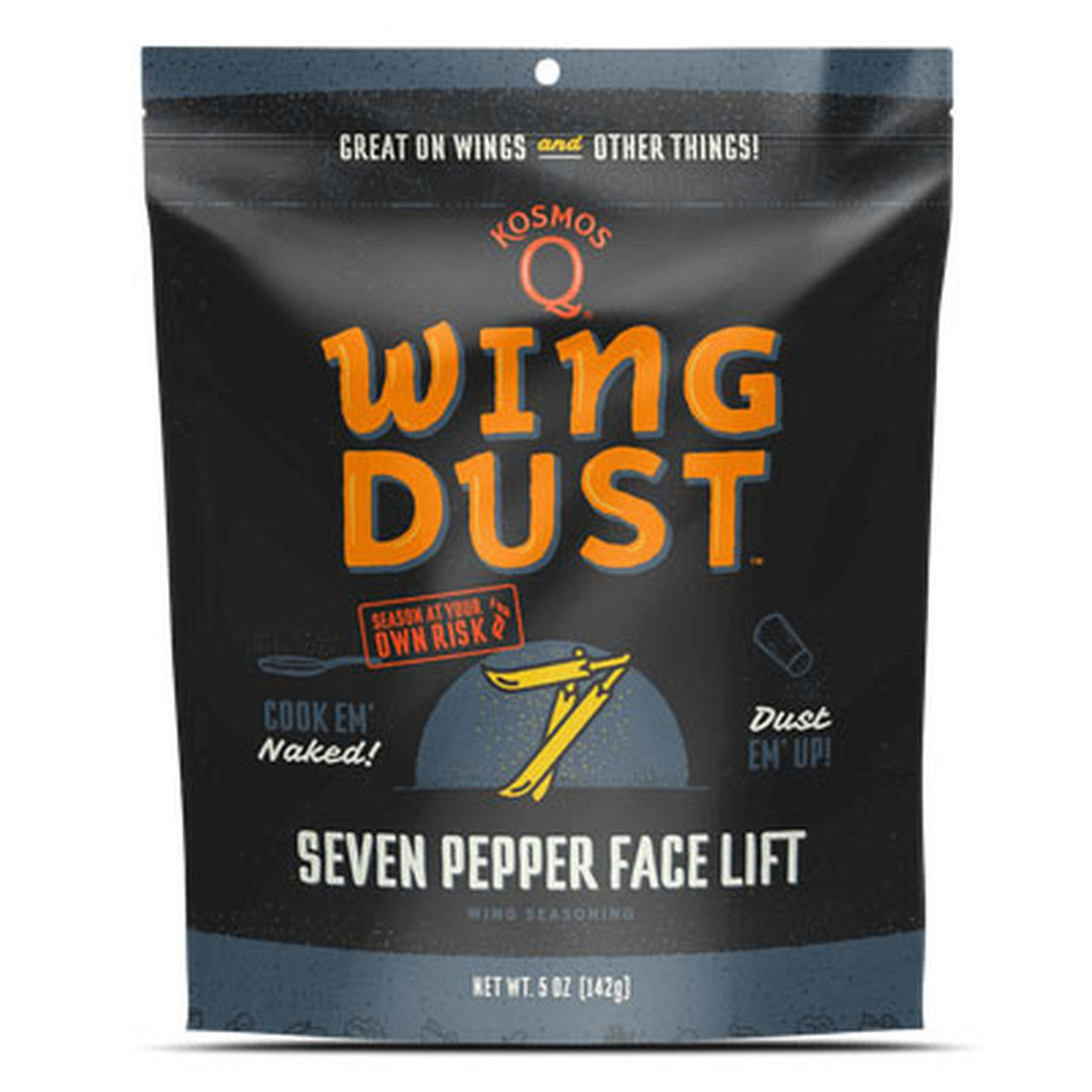 Kosmo's Q - Seven Pepper Face Lift Wing Dust