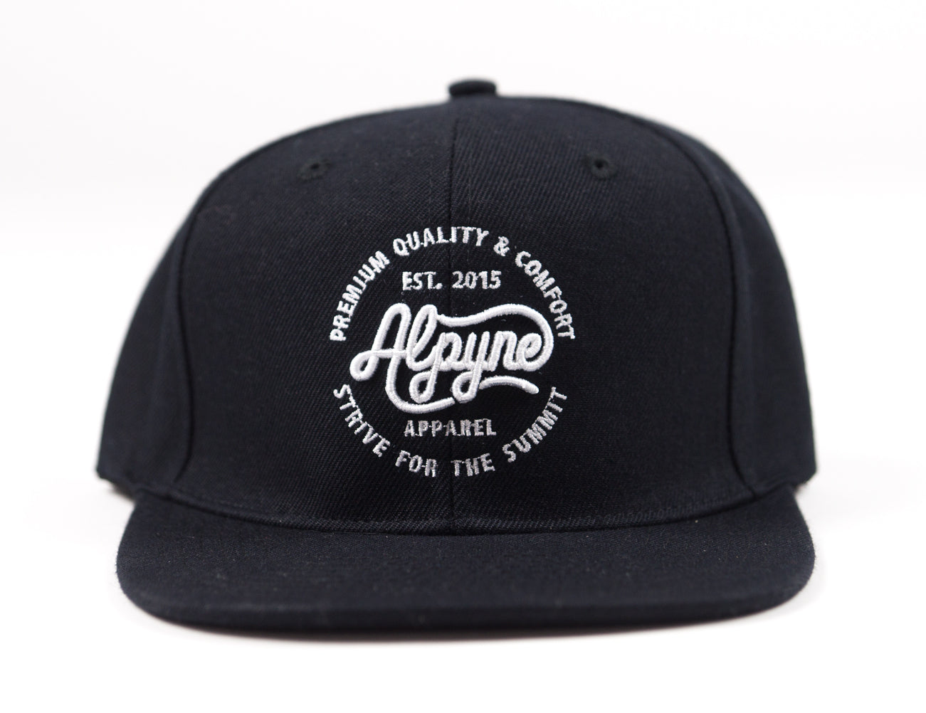 """Silent"" Fitted Flat-Brim"