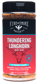 Fire & Smoke Society - Thundering Longhorn Rub