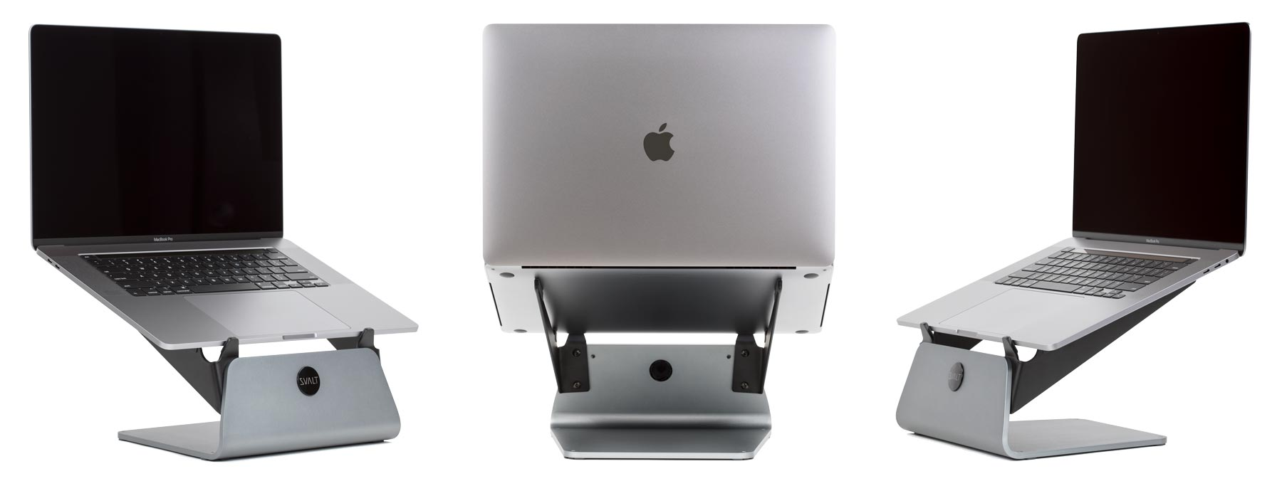 SVALT Cooling Stand model S with 16-inch MacBook Pro