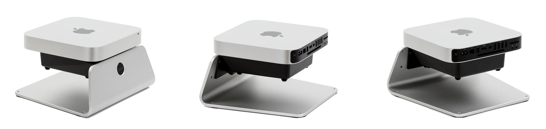 SVALT Cooling Stand model S Mini with Mac Mini
