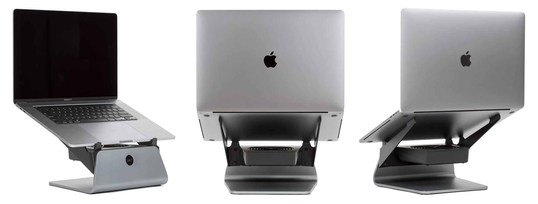 SVALT Cooling Stand model S Pro with 16-inch MacBook Pro