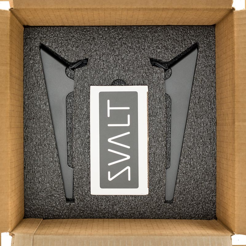 SVALT Cooling Stand packaging accessories layer