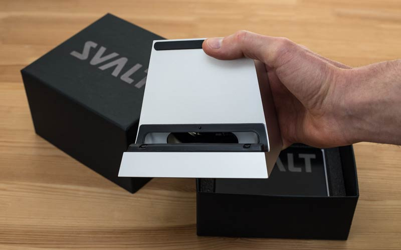 SVALT Cooling Dock packaging