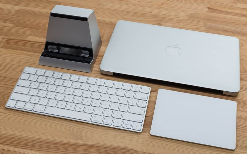 SVALT D2 Performance Cooling Dock with Apple Magic Keyboard and Trackpad 2