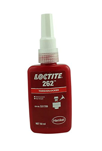 Genuine Henkel Loctite 262 High/Med Strength Torque Tension Threadlocker - 50 ML