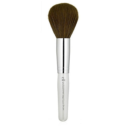 e.l.f. Cosmetics Total Face Makeup Brush for Complete Coverage and a Flawless Finish