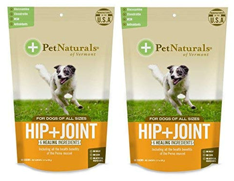 Pet Naturals of VT Hip + Joint Supplements for Dogs