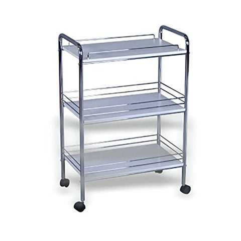 K-Concept George Three Shelves Trolley
