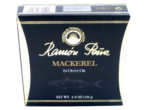 Ramon Pena Mackerel in Olive Oil