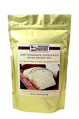 The Prepared Pantry Easy Homemade Sourdough Bread Machine Mix, 18.13 Ounce (Pack of 20)