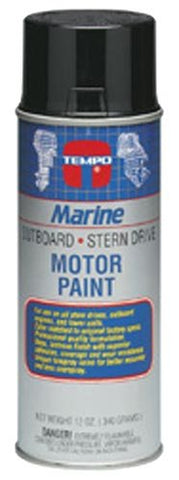 Moeller Mercury Engine Spray Paint, Black