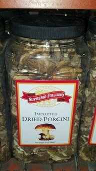 Supremo Italiano: Imported Dried Porcini Mushrooms 16 Oz.