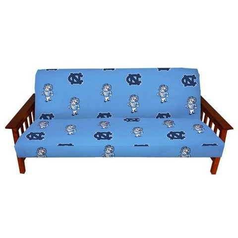College Covers International North Carolina Tar Heels Futon Cover - Full Size Fits 6 and 8 Inch Mats