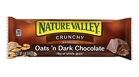 Nature Valley Crunchy Granola Bars Oats 'n Dark Chocolate 18ct