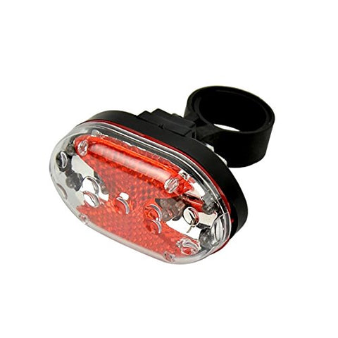 9 LED Bike Tail Rear Light Bicycle Lamp Red Flash