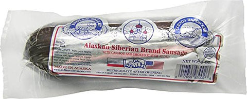 Caribou Summer Sausage (9oz)- Gourmet Wild Game Exotic Meat