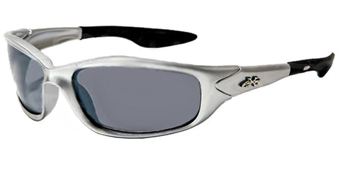 Kids K20 Sunglasses UV400 Rated Ages 3-10 Silver Smoke