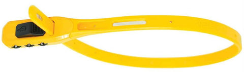 Hiplok Z LOK Combo Multi-use Security Tie & Bike Lock yellow