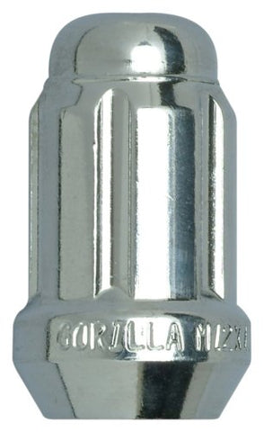 Gorilla Automotive 21138HT Acorn Chrome Small Diameter Lug Nuts (12mm x 1.50  Thread Size), Pack of 100
