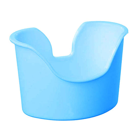 ZIZNBA Ear Wash Basin - Compatible with Almost All Ear Wash Systems Blue