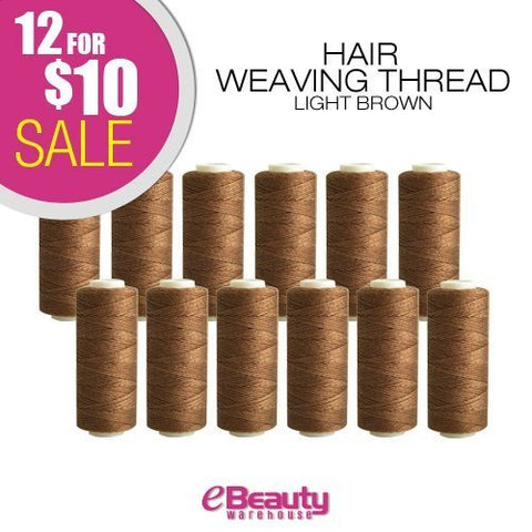 12 for    10 combo deal! Weaving Thread (Light Brown)