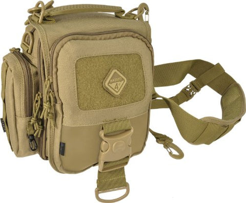 HAZARD 4 Tonto(TM) Concealed-Carry Mini-Messenger Bag w/MOLLE (R) Coyote
