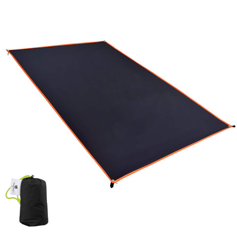 Geertop 1-4 Person Ultralight Waterproof Tent Tarp Footprint Ground Sheet Mat, for Camping, Hiking, Picnic XXXL (8 ft 6 in x 6 ft 11 in)