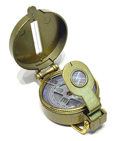 Ruko C-112B WWI Trench Compass with a Metal Case