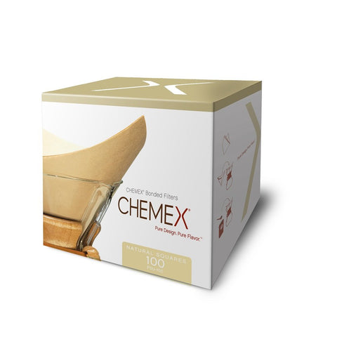 Chemex Natural Coffee Filters, Square, 300 ct - Exclusive Packaging 3