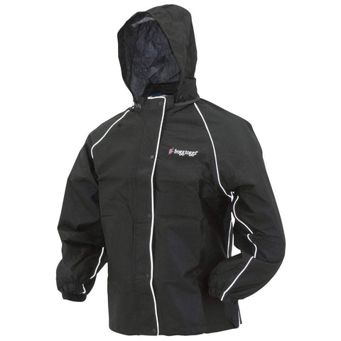 Frogg Toggs Road Toad Reflective Rain Jacket, Women's Small