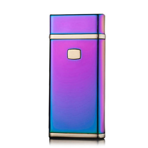 Jobon PVD Technology Ice Color USB Rechargeable Windproof Arc Lighter ZB-828F (Ice Colorful)