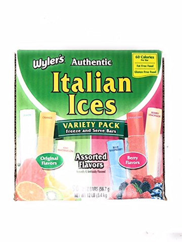 Wyler's Italian Ice, 2 oz (Pack of 96)