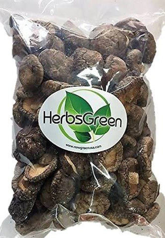 A Grade Dried Shiitake Mushrooms Medium Size (1 LB.)