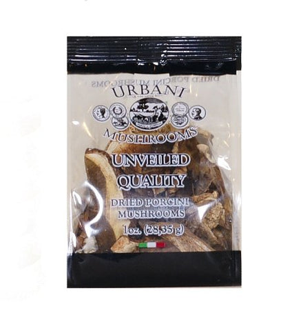 Urbani Dried Porcini Mushrooms, 1-Ounce (Pack of 4)