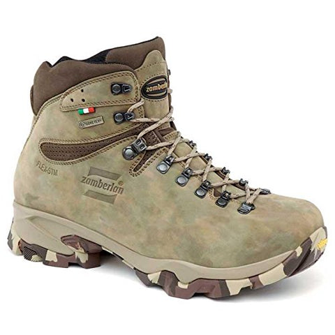 Zamberlan Men's 1013 Leopard GTX Leather Hunting Boots 8 Wide Camo