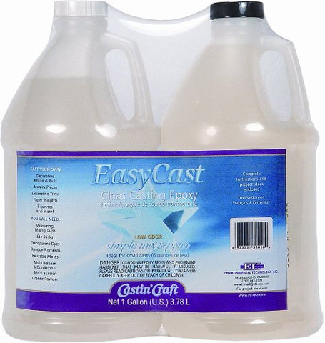 Environmental Technology 33128 128-Ounce Kit Casting' Craft Casting Epoxy, Clear Оne Расk