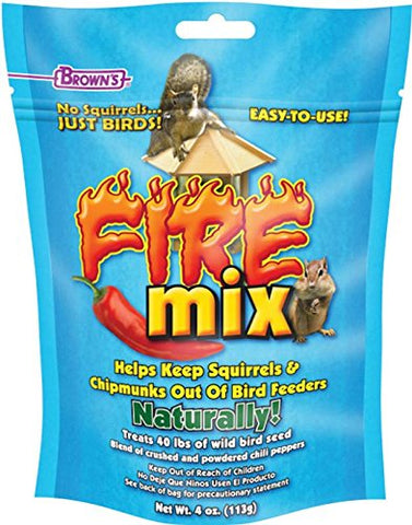 """F.M. Brown's No Squirrels Just Birds! Fire Mix 4 Oz"""