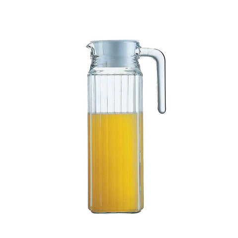 Acrylic Water Pitcher with Lid - for Cold Water, Iced Tea, Juice Beverage Carafe (2000ML) 2000ML
