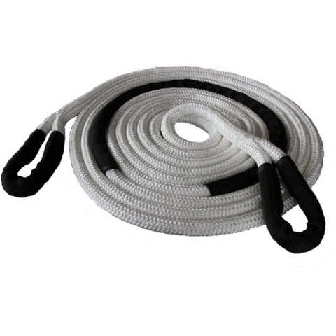 ASR Offroad Kinetic Recovery Rope - 1  x 20' (33,500 lbs) 20' White