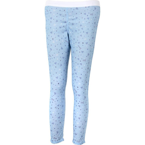 Hot Chillys Youth Pepper Skins Bottom Small Snowflakes