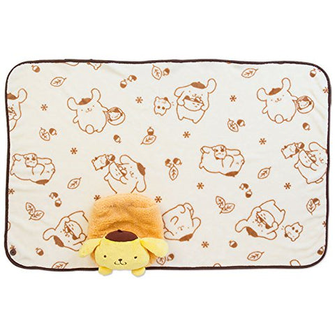 Pompompurin Blanket And Case: Plush Friend