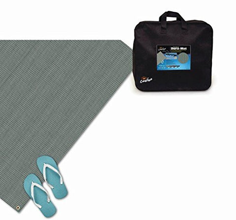 Carefree 182071 Gray 8' x 20' Dura-Mat 8 Foot x 20 Foot