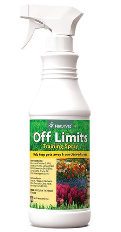 NaturVet Off Limits Dog Training Spray 32