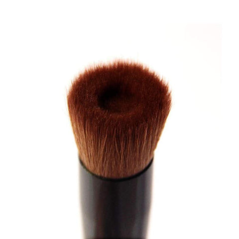 Flat Foundation Brush, Professional Multiple Uses Cosmetic Tool Face Makeup Brushes Concave foundation Brush Liquid foundation Makeup Brush (1 Piece Flat Foundation Brush) Flat Brush-1