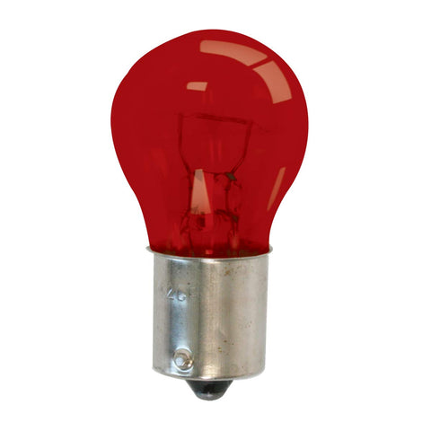 Grand General 84033 Light Bulb (1156 Red Glass) #1156